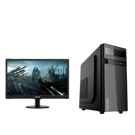 PC Gamer Completa Ryzen 3 3200G 8GB (2x4) SSD 120GB KIT + Monitor 19""