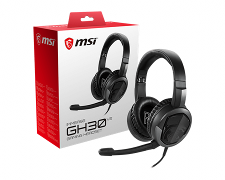 HEADSET MSI IMMERSE GH30 V2