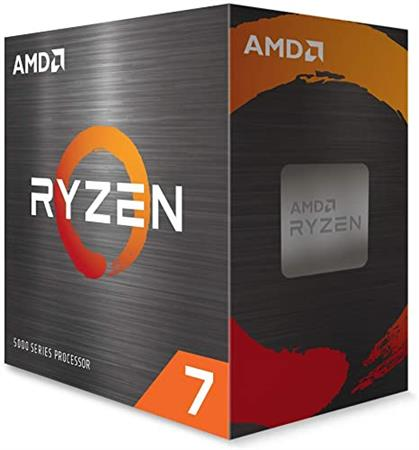 CPU AMD AM4 Ryzen 7 5800X 5ta gen Sin video - Sin cooler