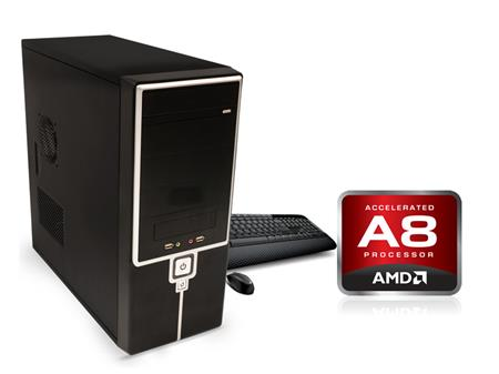 Pc Minima para Punto de Venta | A8 9600 HD 1TB 8GB GAB KIT