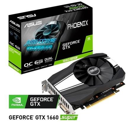 VGA GEFORCE GTX 1660 6GB SUPER ASUS PHOENIX OC