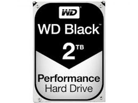 HD 3.5 SATA3 2TB WD BLACK