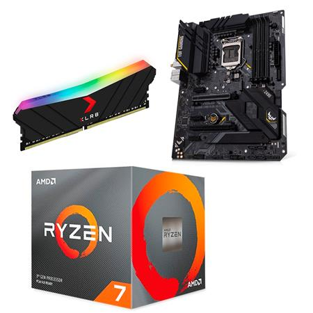 Combo Ryzen 7 3800x + B550M-PLUS WIFI + DDR4 16GB 3200 MHZ