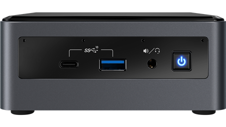 PC NUC INTEL BOX NUC CORE I5 10210U 10MA GENERACION 8GB DDR4 M.2 SATA 240GB WIFI BLUETOOTH