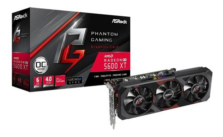 VGA RADEON RX 5600 XT Phantom Gaming D3 6GB OC Asrock