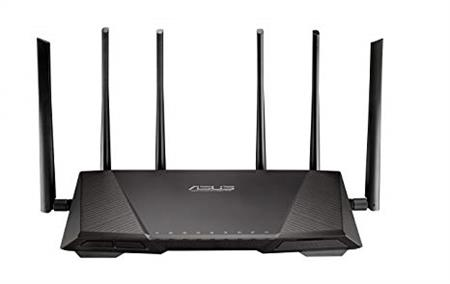 Router Wifi Asus Ac3200 Tribanda Ultra Smart Rt3200ac Gamer