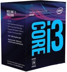 CPU INTEL 1151 CORE I3 8100