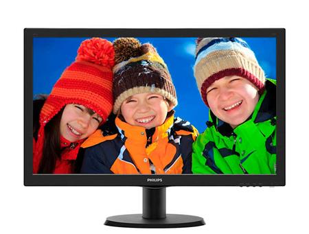 "MONITOR PHILIPS LED 24"" VGA HDMI DVI-D - 243V5LHSB/55"
